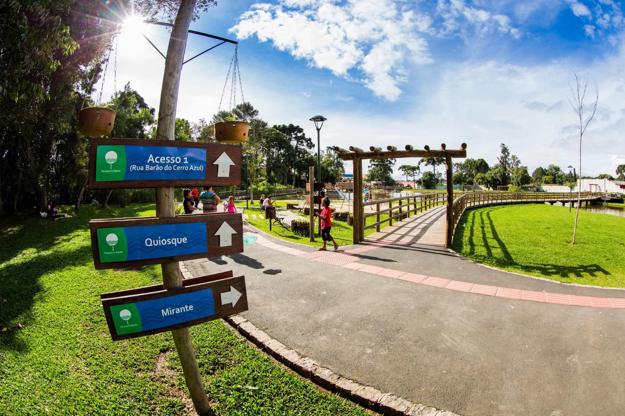 Parque das Águas em Piraquara 3